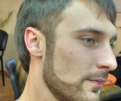 Мужская стрижка+окантовка бороды