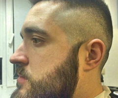 Мужская стрижка+стрижка бороды