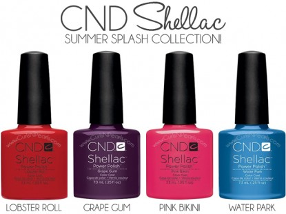 Shellac Summer Splash Collection