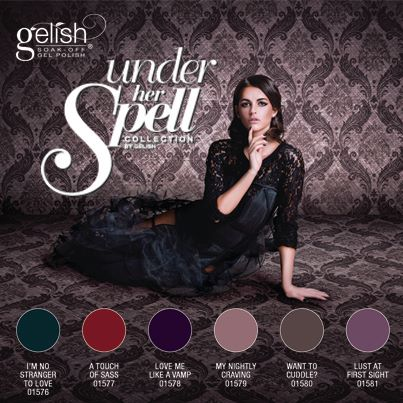 Gelish Under Her Spell