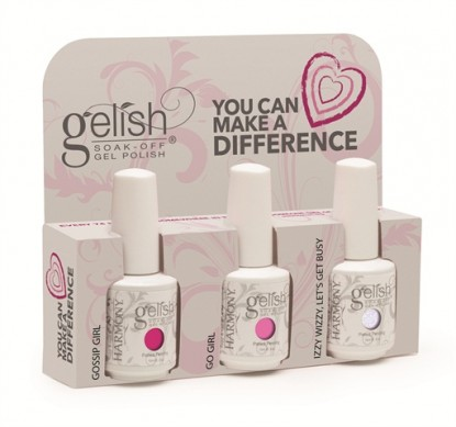 Gelish You Can help make a Difference